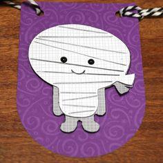 Doodlebug Design Inc Blog: Doodlebug Design Silhouette Cut Files: Halloween Banner by Kathy