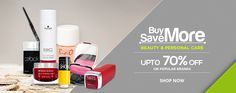 Snapdeal Beauty and Personal CareOffer Get upto 70% off on The Beauty Storeat Snapdeal. You can buy branded makeup, skincare, shaving & grooming, hair care products & more at low prices in India on Snapdeal Website.To grab theSnapdeal Bea