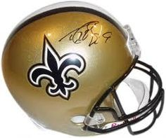 Saints! Signed by Drew Brees and delivered by the offensive line!