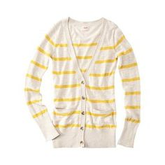 cute yellow stripes