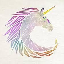 "Результат пошуку зображень за запитом ""geometric unicorn"""