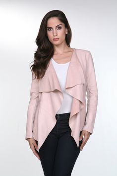 Drape Collar Jacket