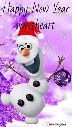 50 New Year Wishes For Her (Girlfriend Or Wife) With Images Christmas Clipart, Disney Christmas, Christmas Art, Christmas Decorations, Frozen Wallpaper, Disney Wallpaper, Iphone Wallpaper, Disney Olaf, Disney Pixar