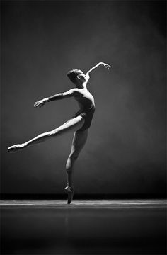 Contemporary Ballet by Mariya Andriichuk - her physical lines are beautiful…
