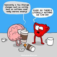 The Awkward Yeti Comic Strip Science Humor Akward Yeti, The Awkward Yeti, Funny Quotes, Funny Memes, Hilarious, Heart And Brain Comic, Coffee Is Life, Coffee Coffee, Coffee Time
