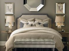 Clipped Corner Headboard by Bassett Furniture