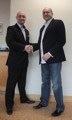 David Tillyer with Paul Ribbons @ Property Traders Live, January 2013 Ribbons, January, David, Suits, Live, Fashion, Moda, Bias Tape, Fashion Styles