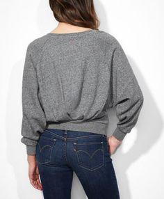 Pleated Back Fleece