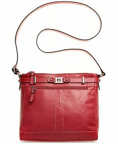 Macy's: Giani Bernini Glazed Leather Crossbody