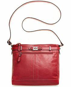 Macy's: Giani Bernini Glazed Leather Crossbody