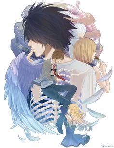Lは空からの天使、MeloはLでチョコレートを食べ、Misaはいつも新しい世界の神であるKiraと恋をしています - それは終わりの良い選択肢でした。