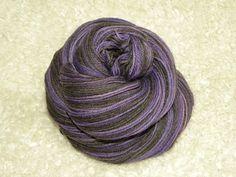 "Self striping sock yarn  ""Ursula"""