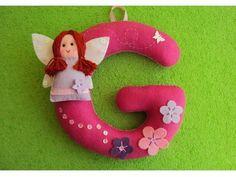 Letra personalizada Delicado enfeite para quartos, porta de maternidade