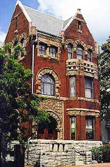 Hunter House Victorian Museum in Norfolk, Virginia.