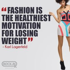 Fashion is the Healthiest Motivation for Losing Weight