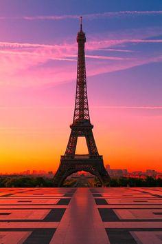 Paris Sunset | World's Snaps
