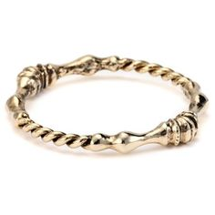Low Luv by Erin Wasson Rope Twist and Horse Hoof Gold Bangle Bracelet: Jewelry: Amazon.com