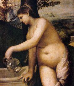 Venus giorgione sleeping