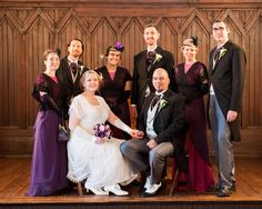 Downton Abbey themed Wedding Ceremony. Photo courtesy of Neil Boyd Photography.