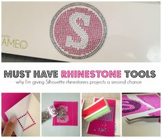 Rhinestone Tools for Silhouette: Why I'm Giving Rhinestones a Second Chance