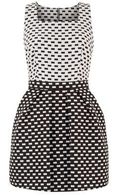 Primark AW12 Jacquard Skater Dress
