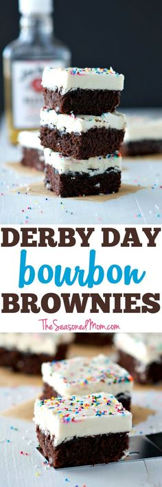 Derby Day Bourbon Brownies