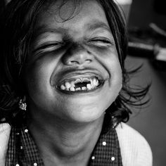 The joy of a smile :)  Protect all children from abuse. repinned: www.brindacarey.com