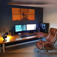 Furniture Home Office Design Ideas. Therefore, the need for house offices.Whether you are planning on adding a home office or renovating an old area right into one, below are some brilliant home office design ideas to aid you begin. Best Home Office Desk, Home Office Furniture Sets, Home Office Setup, Home Office Space, Home Office Layouts, Office Style, Office Ideas, Office Interior Design, Office Interiors