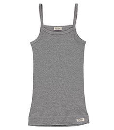 Strap Vest 2-Pack Modal Underwear - Grey Melange