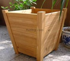 Wooden Planter Box, Garden Planter, Wooden Box