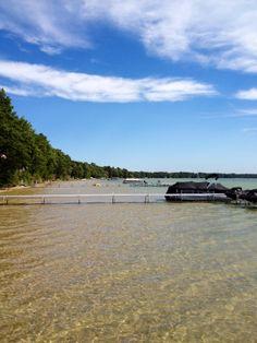 West Twin Lake in Lewiston Michigan! Beautiful clear water!!!!