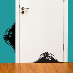 Curious Monsters sticker - this would be fun to have in unexpected places - like the back of the toilet door!