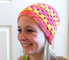 Beanie Hat Women Teen Pink Orange Yellow by PreciousBowtique, $12.00