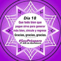 Dia 18 - #SoyPróspero: 21 Días de Abundancia.