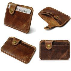 Men's Fashion Money Clip Slim Credit Card ID Holder Wallet Money Cash Holder