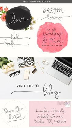 Bellwethers Modern Calligraphy font By Angie Makes | angiemakes.com
