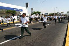 La Banda de Música del #P04Cuautla participó en el desfile cívico - militar para conmemorar el Rompimiento del Sitio de #Cuautla