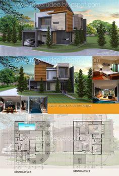 maxSTUDEOarch: Project : Rumah Tinggal Lokasi : Delatinos Cluste...