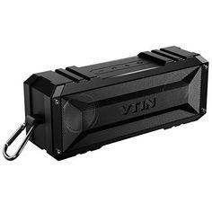 VTIN Haut-parleur/Enceinte d'Extérieur Portable Bluetooth 4.0 Waterproof: 25 heures d'Autonomie et Kit Mains Libres Intégré, La batterie…