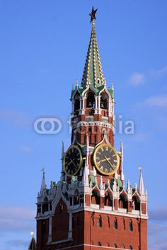 Spasskaya tower on Red Square