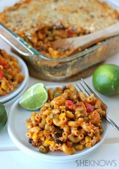 Chorizo macaroni and cheese