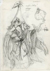 bird hat man - Brian Froud Labyrinth