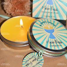 Resultado de imagen para souvenirs comunion varon Tea Lights, Candles, Scrap, Celebration, Reunions, Christening, Manualidades, Birth, Tea Light Candles