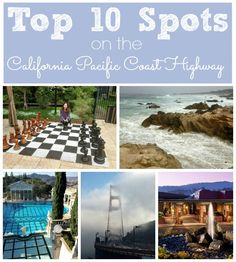 Discover the 10 must see places to visit on the California Pacific Coast Highway!