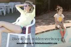 Stock- en soldenverkoop manufactuur.be & littlefashionaddict.com -- Merelbeke -- 03/06-04/06