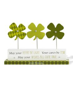 Look at this #zulilyfind! 'May Your Heart' Tabletop Decor by K&K Interiors #zulilyfinds