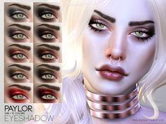 Eyeshadow in 10 colors Found in TSR Category 'Sims 4 Female Eyeshadow'