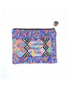 woven cosmetic bag #fairtrade