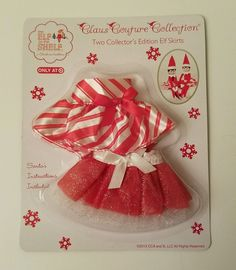 Claus Couture Collection Two Collector's Edition Elf On A Shelf Skirts 2013