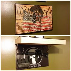 Custom Built Weapons Hide Shadowbox